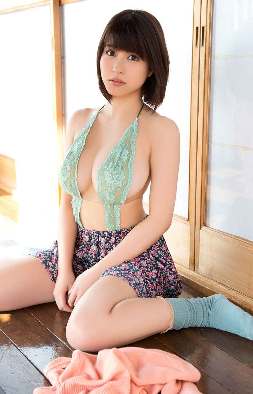 Nagisa aiba gets horny guy to stimulate her pussy 10