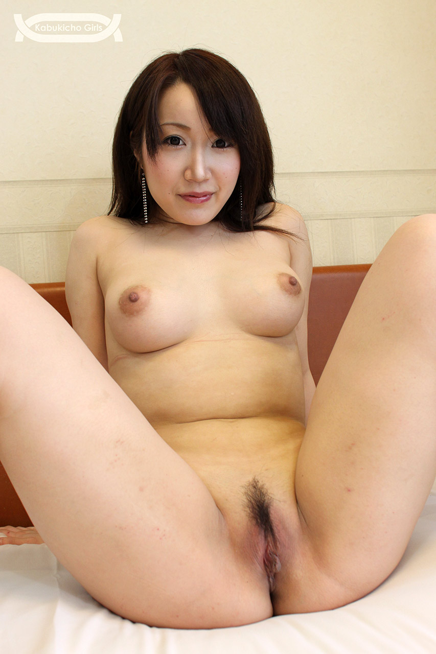 Japanese karin tsubaki has her furry muff punished 6