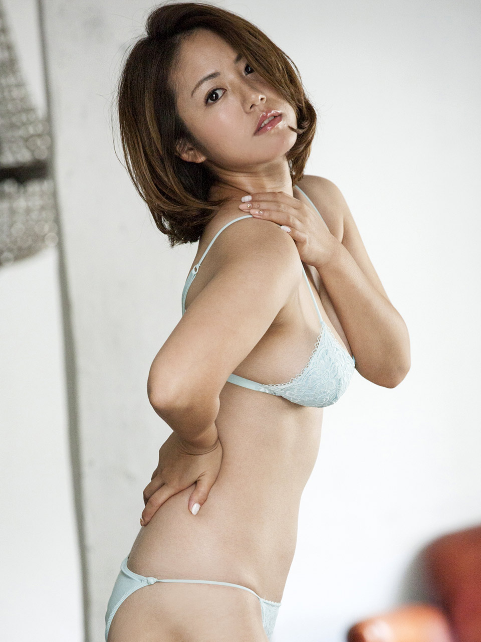Aiko nagai with big assets sucks boner until gets cum in mou 7