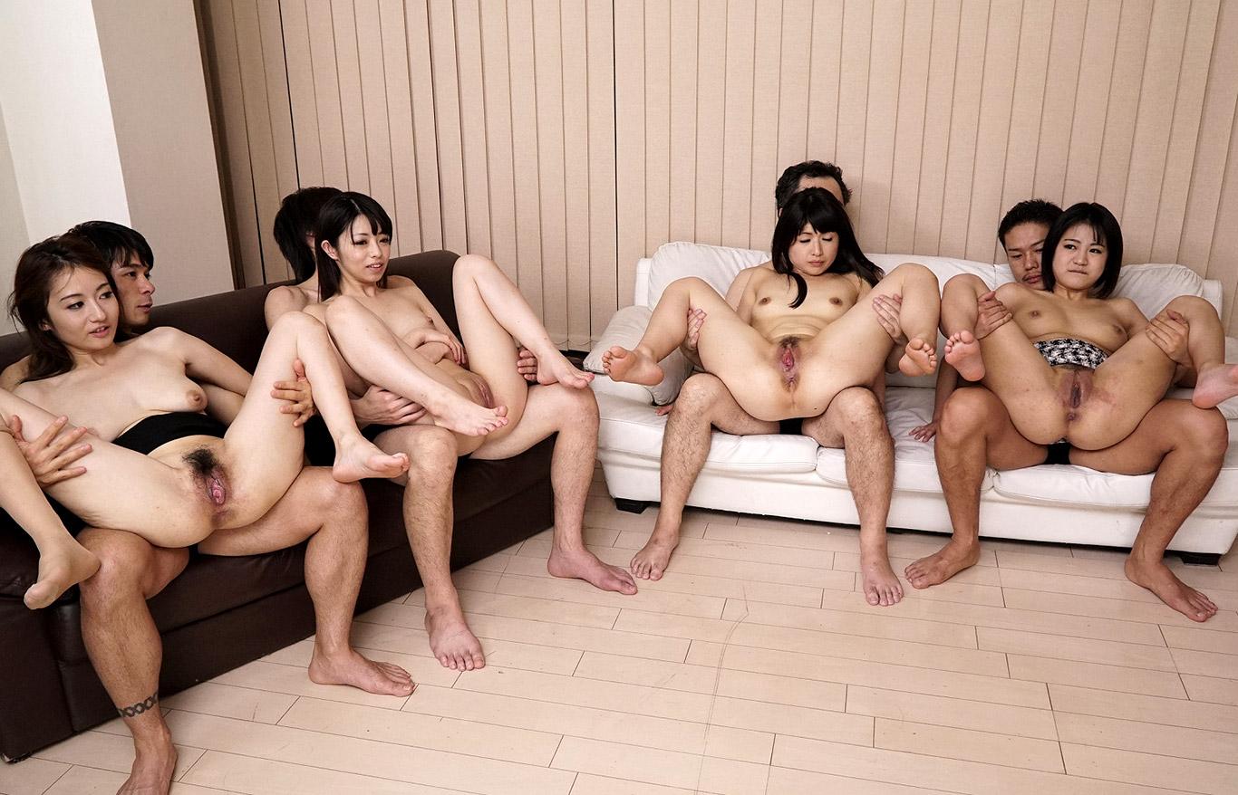 Порно видео с японками групповуха